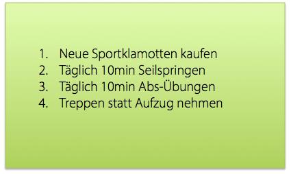 Tipps für einen sportlichen Alltag
